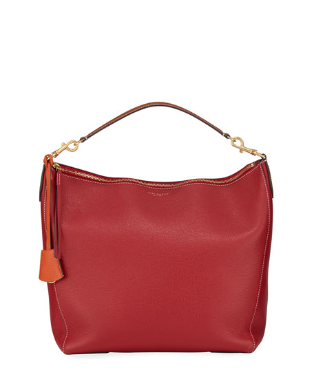 Tory Burch Perry Leather Hobo Bag