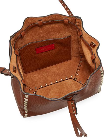 Valentino Garavani Rockstud Small Bucket Bag