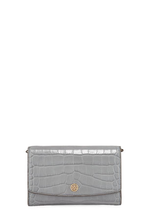 Tory Burch Robinson Embossed Crossbody Bag
