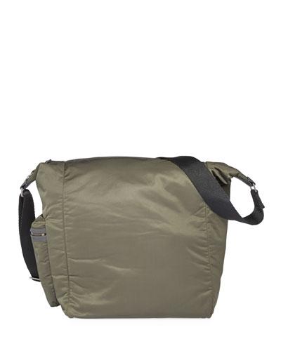 Techno Nylon Shoulder Bag