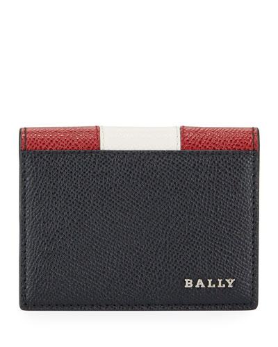 Men's Talder Trainspotting-Stripe Leather Wallet