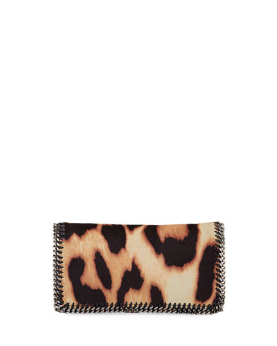 Falabella Shaggy Deer Leopard Crossbody Bag