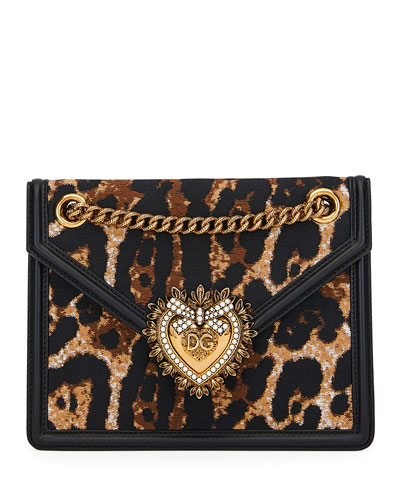 Devotion Leopard-Print Crossbody Bag