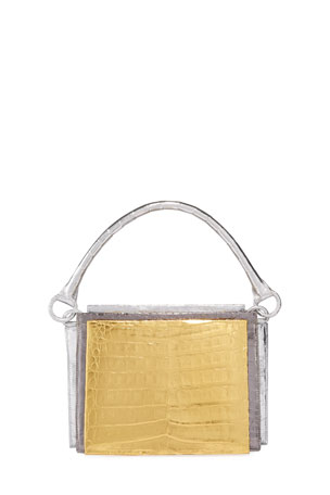 Nancy Gonzalez Radizwill Crocodile Top Handle Bag
