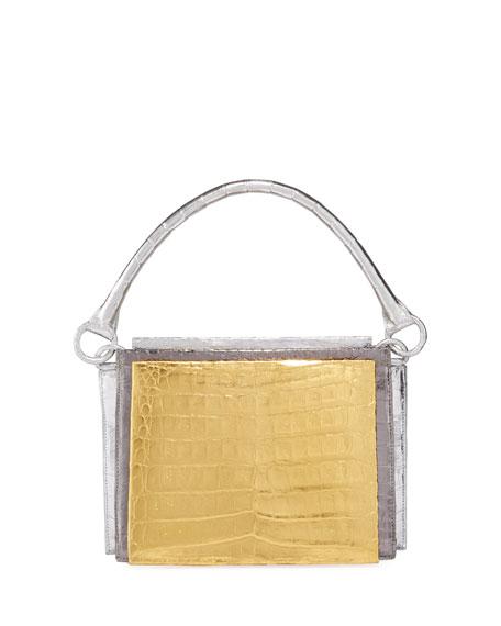 Nancy Gonzalez Radizwill Crocodile Top Handle Bag