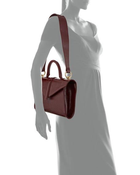 Complet Valery Medium Soft Crossbody Bag, Dark Red