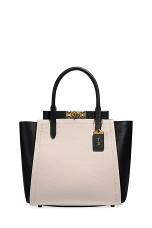 Coach 1941 Colorblock Bar Tote Bag