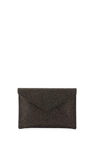 Rebecca Minkoff Leo Glitter Envelope Clutch Bag
