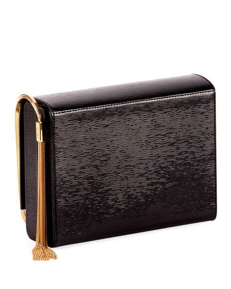 Saint Laurent Kate YSL Boxy Flap Tassel Shoulder Bag