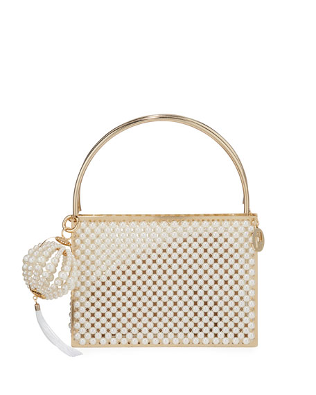 Rosantica Calipso Pearly Top Handle Bag