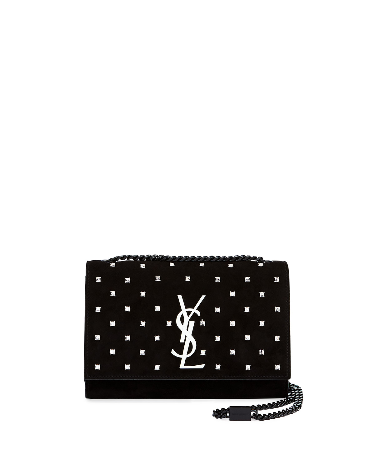 Kate Small Monogram Ysl Leather Crossbody Bag With Crystals by Saint Laurent