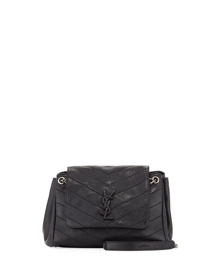 Saint Laurent Nolita Flap Double Shoulder Bag