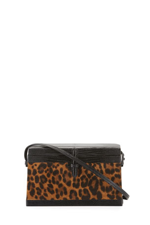 Hunting Season Square Trunk Leopard Clutch Bag