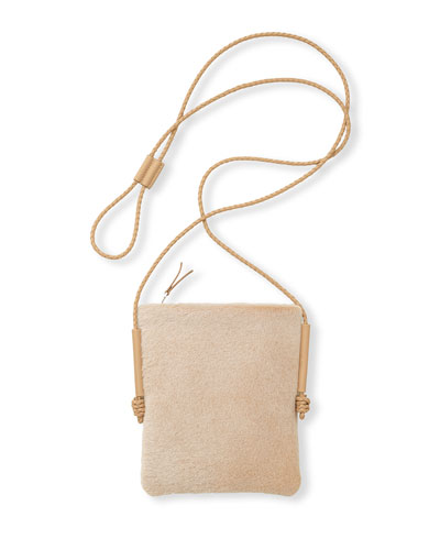 Shearling Crossbody Bag