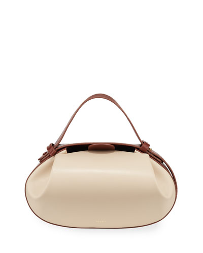 Loaf Oval Top-Handle Bag