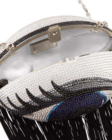 Judith Leiber Couture Blinkie Football Collector's Edition Crystal Clutch Bag