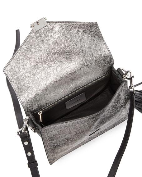 AllSaints Miki Leather Crossbody Bag