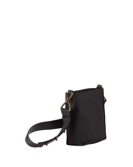 Image 3 of 4: Nilo Small Leather Crossbody Tote Bag