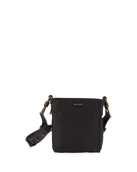 Image 1 of 4: Nilo Small Leather Crossbody Tote Bag