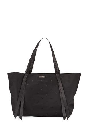 Steel Mid Grey Plain Strong Shoulder Shopper Bag One Size
