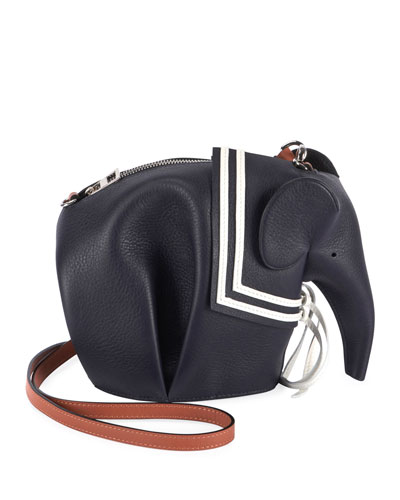 Elephant Sailor Zip Crossbody Bag
