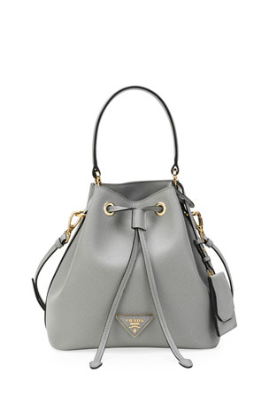 Prada Saffiano Bucket Bag w/ Removable Crossbody Strap $1870.00