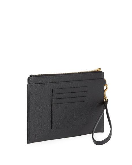 Saint Laurent YSL Monogram Pouch Wristlet Bag