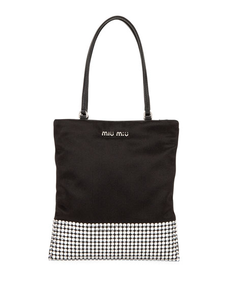 Miu Miu Totes RASO STARLIGHT MINI TOTE BAG