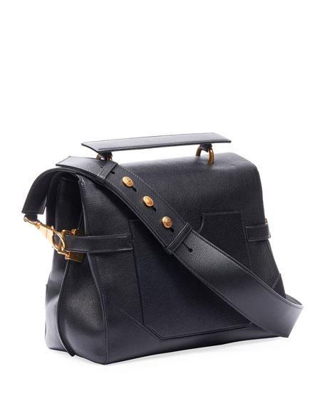 Balmain BBuzz 30 Buffalo Leather Bag