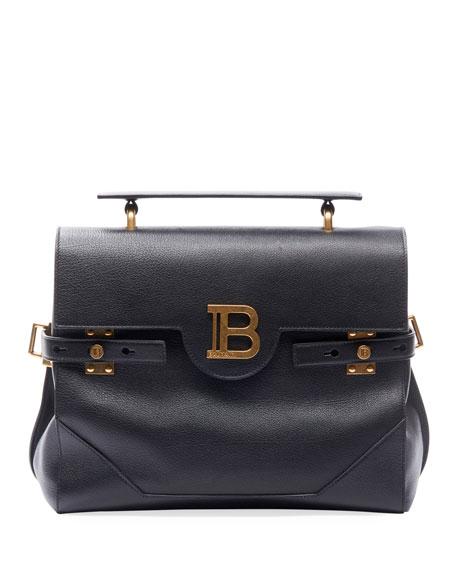 Balmain Accessories BBuzz 30 Buffalo Leather Bag