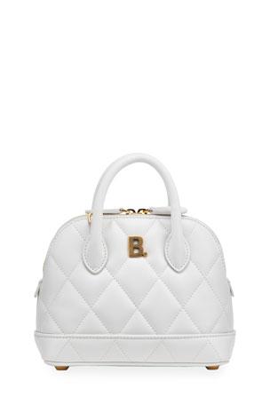 Balenciaga Ville XXS AJ Quilted Top Handle Bag