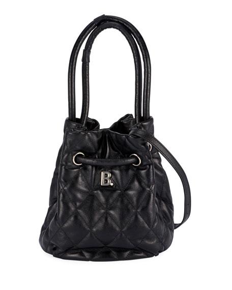 Balenciaga B Quilted Bucket Bag