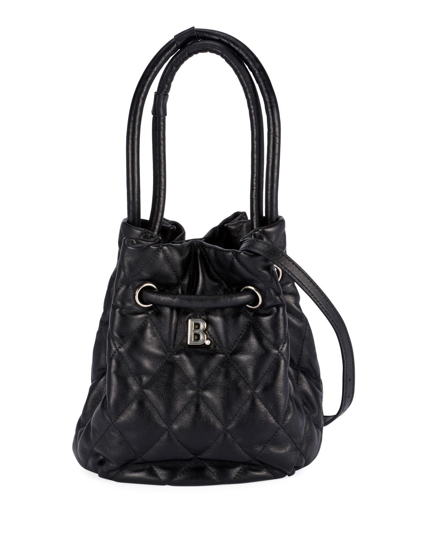 Balenciaga B Quilted Bucket Bag Neiman Marcus