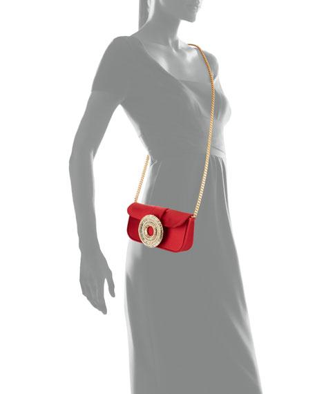 Gedebe Jeni Satin Clutch Bag