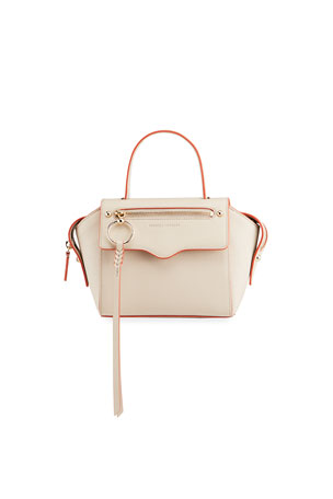 Rebecca Minkoff Gabby Small Leather Satchel Bag