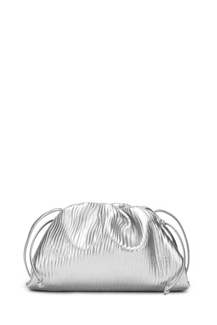 Bottega Veneta Mini Metallic Pouch Bag