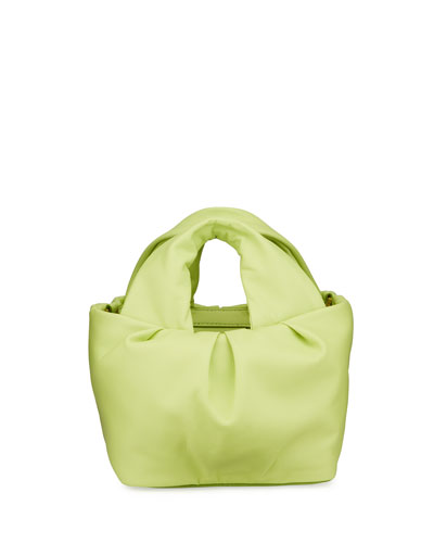 Lera Leather Top-Handle Bag