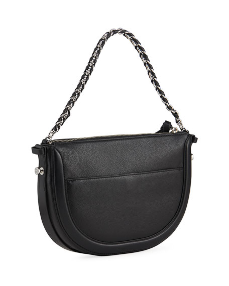 Image 3 of 4: Jagger Small Zip Crossbody Bag