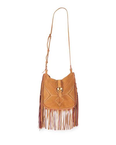 Usko Fringe Saddle Shoulder Bag