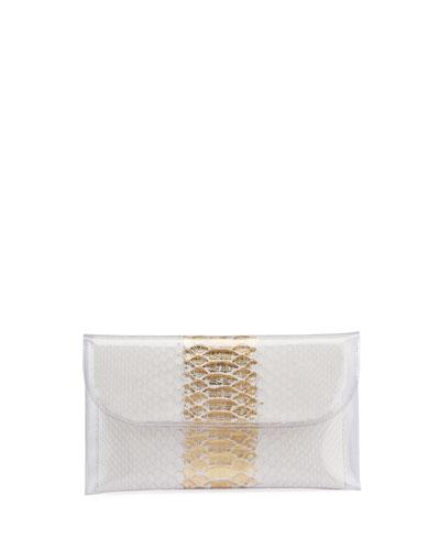 PVC Envelope Clutch Bag