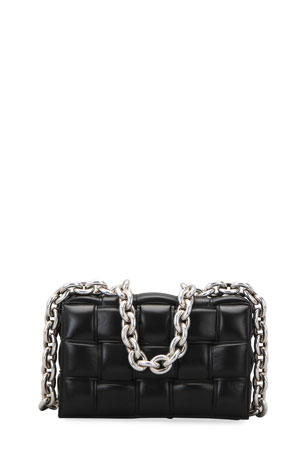 Bottega Veneta Cassette Chain Shoulder Bag $3800.00