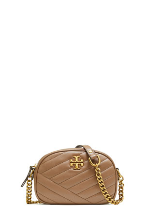 Tory Burch Kira Small Chevron Crossbody Camera Bag
