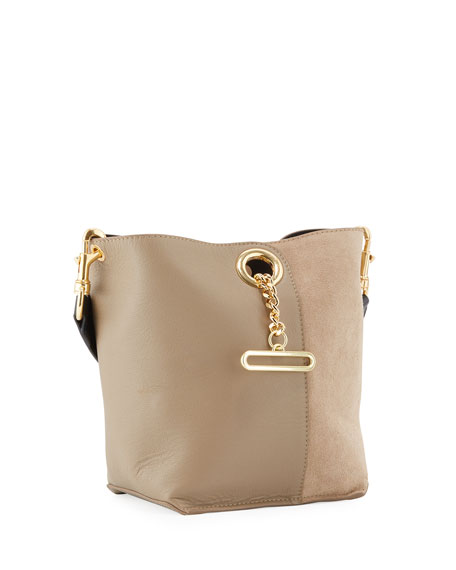 Image 3 of 4: See by Chloe Gaia Small Leather Tote Bag