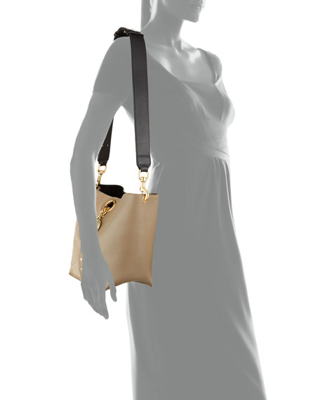 Image 4 of 4: See by Chloe Gaia Small Leather Tote Bag