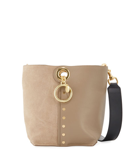Image 1 of 4: See by Chloe Gaia Small Leather Tote Bag