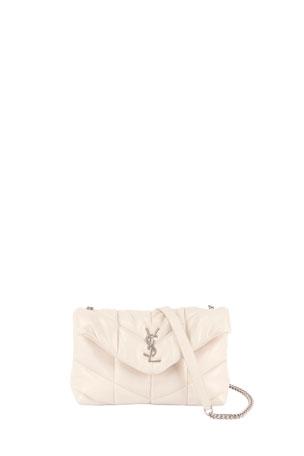Saint Laurent LouLou YSL Mini Quilted Crossbody Bag