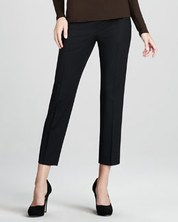Lafayette 148 New York Stanton Side-Zip Pants