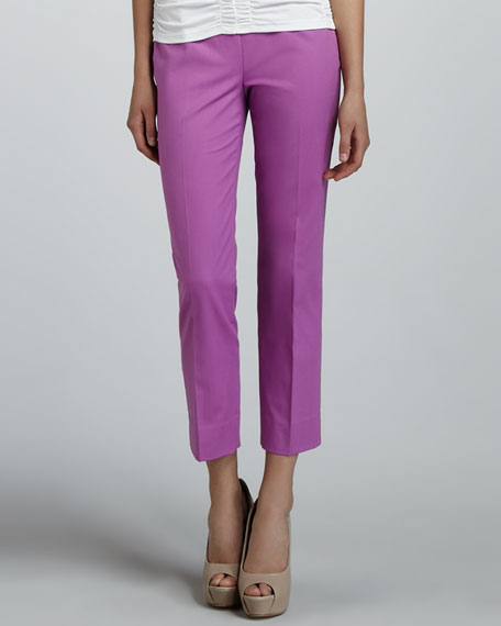 Bleecker Cropped Pants, Blossom