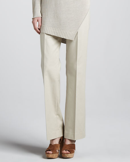 Relaxed Twill Pants
