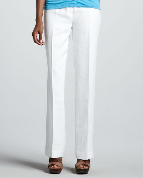 Linen Menswear Trousers